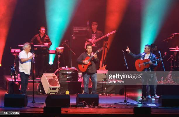 Nicolas Reyes of The Gipsy Kings In Concert at Adrienne Arsht Center for the Performing Arts on June 14 2017 in Miami Florida