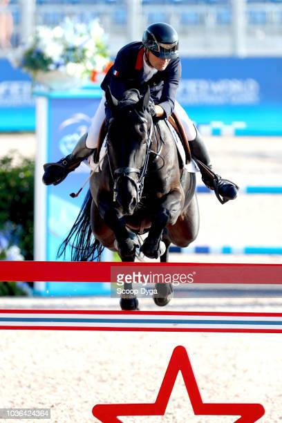 Team Austria during the FEI World Equestrian Games 2018 on September 19 2018 in Tryon United States of America