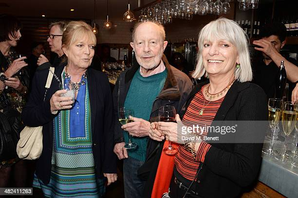 Nicolas Roeg and guests attend the launch of the 3rd annual 'Made In Britain' season featuring the films of producer Jeremy Thomas at the BFI...