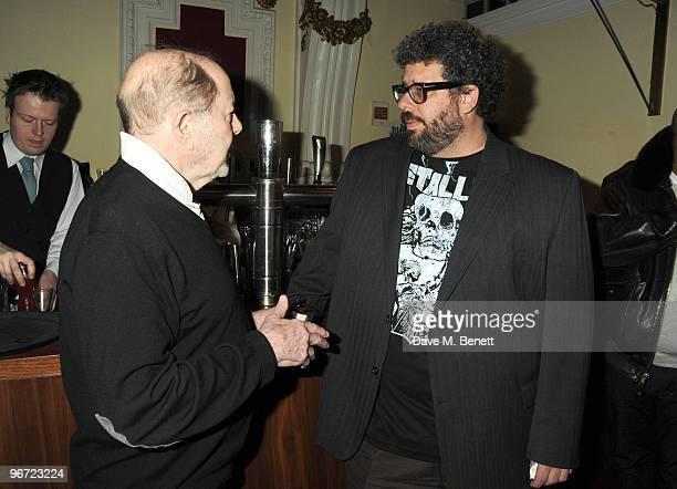 Nicolas Roeg and Neil LaBute attend the launch of 'Heavy Rain' for PlayStation 3 at The Electric Cinema on February 15, 2010 in London, England.