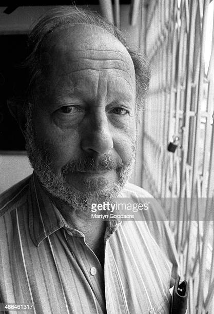 Nicolas Roeg, British film director, portrait, London, United Kingdom, 1991.