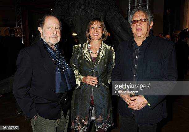 Nicolas Roeg, Jennifer Agutter and Jeremy Thomas attend the London Evening Standard British Film Awards 2010, at The London Film Museum on February...
