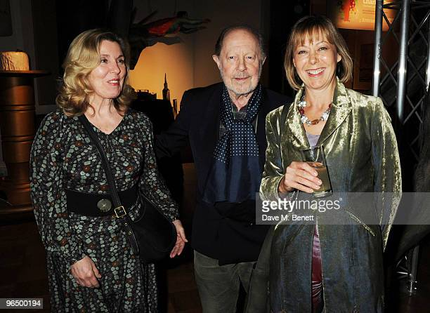 Nicolas Roeg with his wife and Jennifer Agutter attend the London Evening Standard British Film Awards 2010, at The London Film Museum on February 8,...