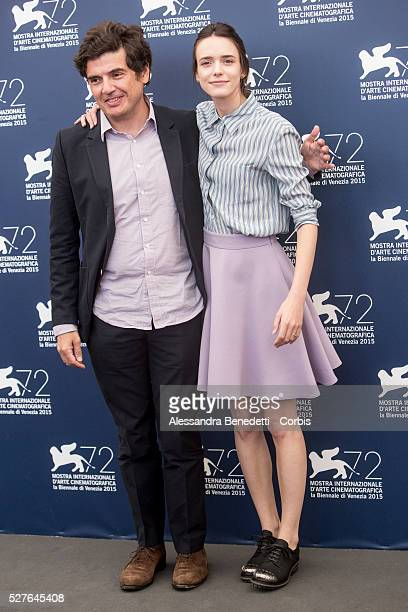 Nicolas Saada stacy Martin Gina Mckee and Alba Rorhwacher attend the photocall pf movie Taj Mahal presented in competition during the 72nd...