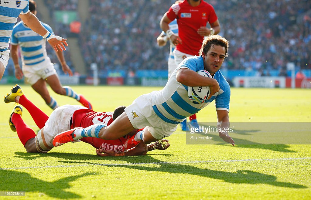 Argentina v Tonga - Group C: Rugby World Cup 2015 : News Photo