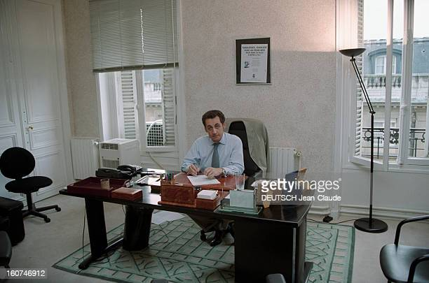 neuilly nicolas sarkozy stock photos and pictures getty images. Black Bedroom Furniture Sets. Home Design Ideas