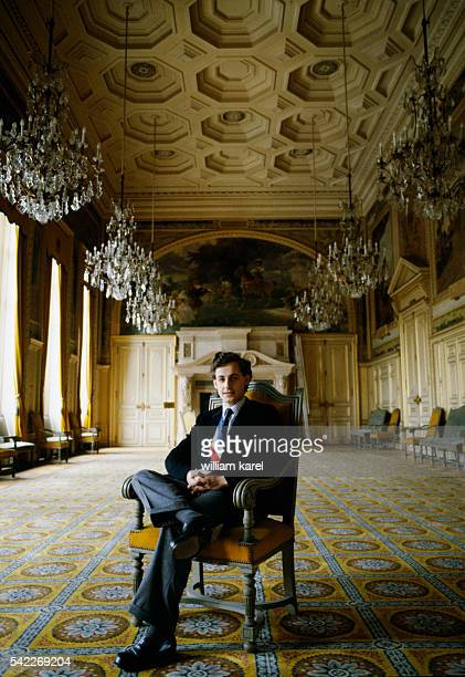 Nicolas Sarkozy is the newly appointed mayor of Neuilly Sur Seine replacing the late Achille Peretti