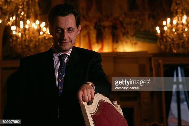 Nicolas Sarkozy Mayor of Neuillysur Seine