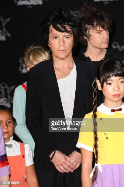 Nicolas Sirkis of Indochine Band arrives at the 19th NRJ Music Awards ceremony at the Palais des Festivals on November 4 2017 in Cannes France