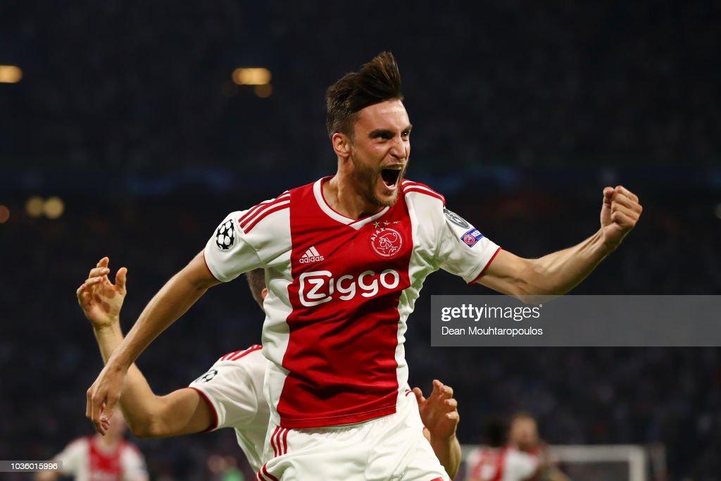 Ajax v AEK Athens - UEFA Champions League Group E : News Photo