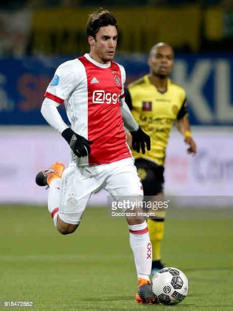 Nicolas Tagliafico of Ajax during the Dutch Eredivisie match between Roda JC v Ajax at the Parkstad Limburg Stadium on February 7 2018 in Kerkrade...