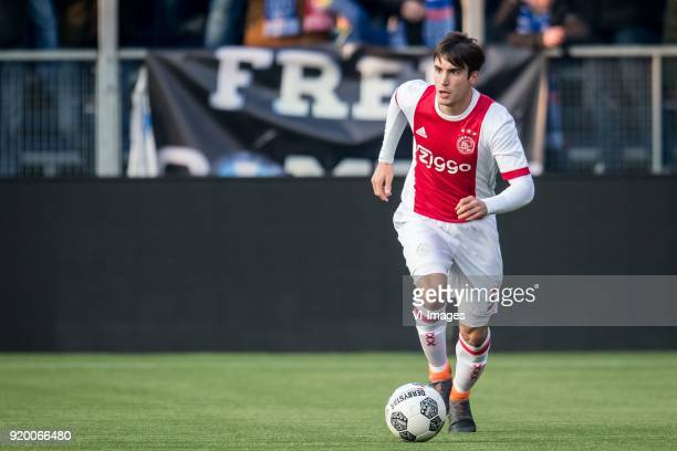 Nicolas Tagliafico of Ajax during the Dutch Eredivisie match between PEC Zwolle and Ajax Amsterdam at the MAC3Park stadium on February 18 2018 in...