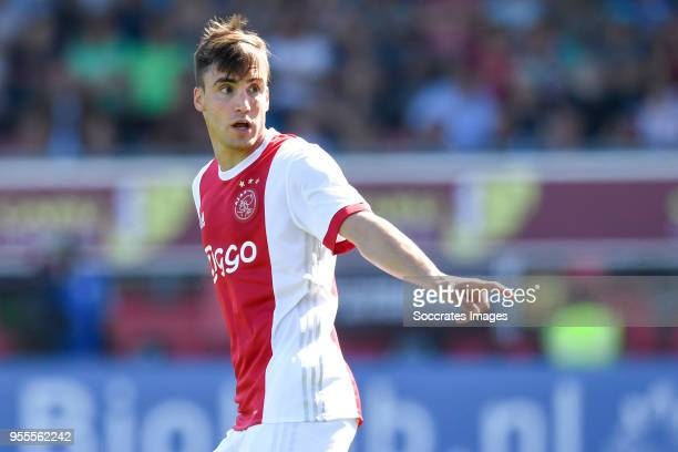 Nicolas Tagliafico of Ajax during the Dutch Eredivisie match between Excelsior v Ajax at the Van Donge De Roo Stadium on May 6 2018 in Rotterdam...