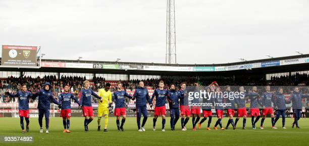 Nicolas Tagliafico of Ajax Noa Lang of Ajax Justin Kluivert of Ajax Rasmus Kristensen of Ajax Andre Onana of Ajax Joel Veltman of Ajax Mitchel Bakker...