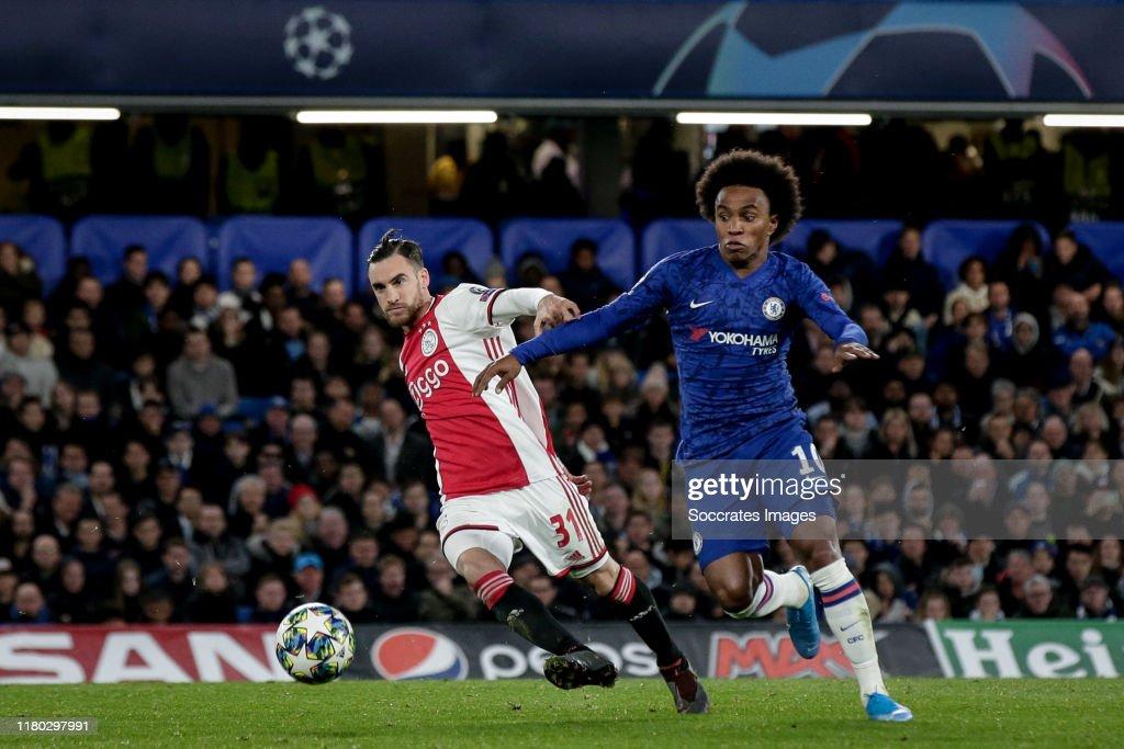 Chelsea v Ajax - UEFA Champions League : Foto di attualità