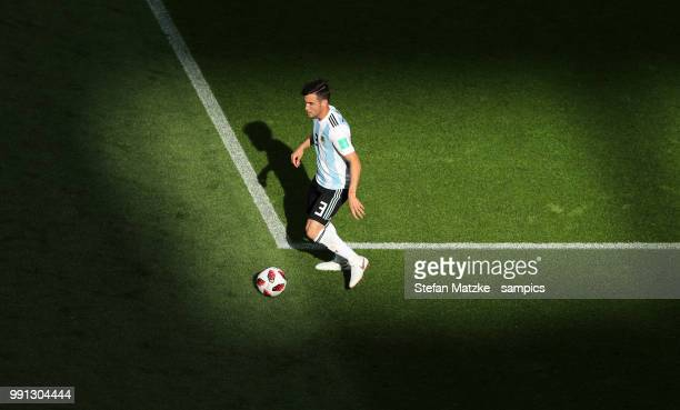 Nicolas TAGLIAFICO of Argentina during the 2018 FIFA World Cup Russia Round of 16 match between France and Argentina at Kazan Arena on June 30 2018...