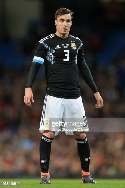 Nicolas Tagliafico Of Argentina Looks On During The International Friendly Match Between Italy And Argentina At