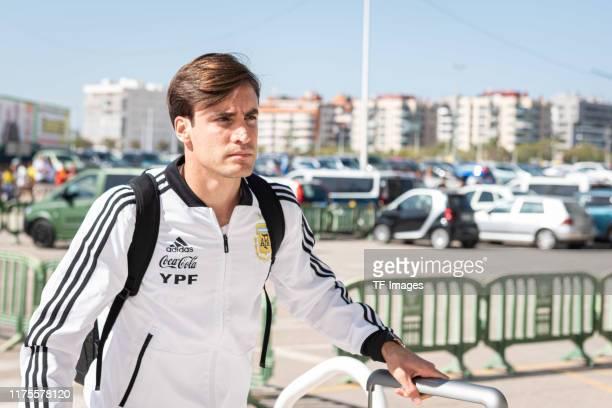 Nicolas Tagliafico of Argentina looks on piror to the UEFA Euro 2020 qualifier between Ecuador and Argentina on October 13, 2019 in Elche, Spain.