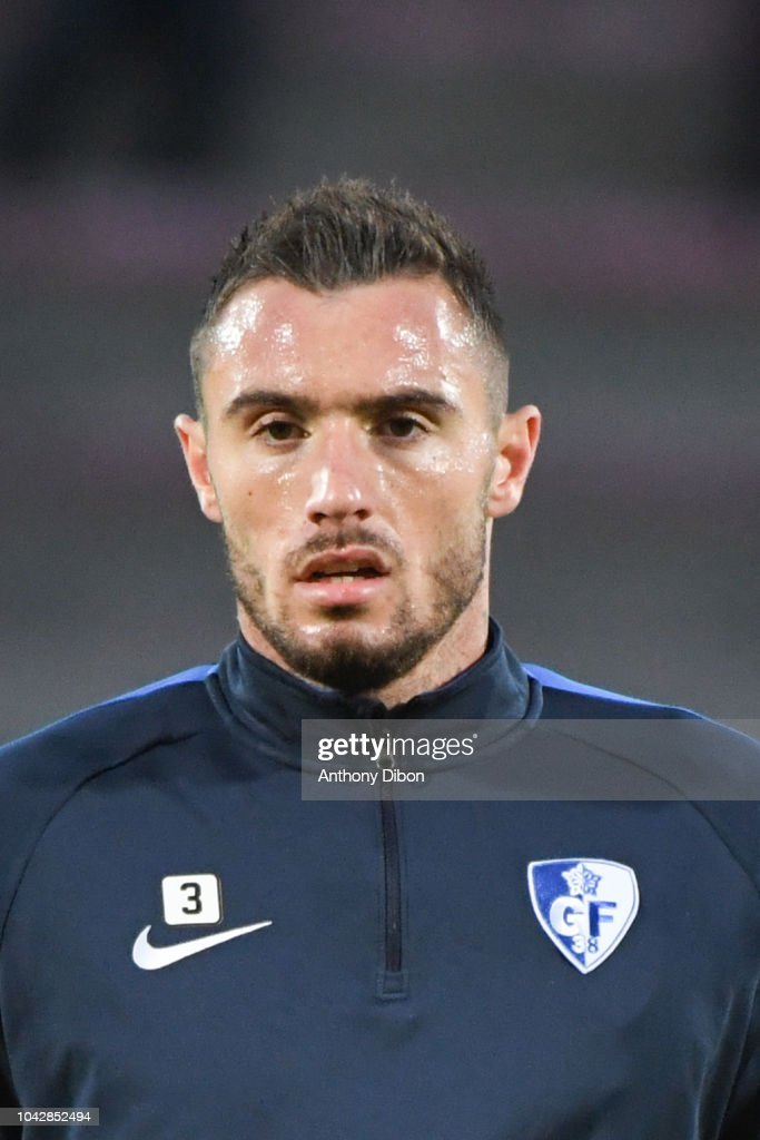 nicolas taravel of grenoble during the ligue 2 match