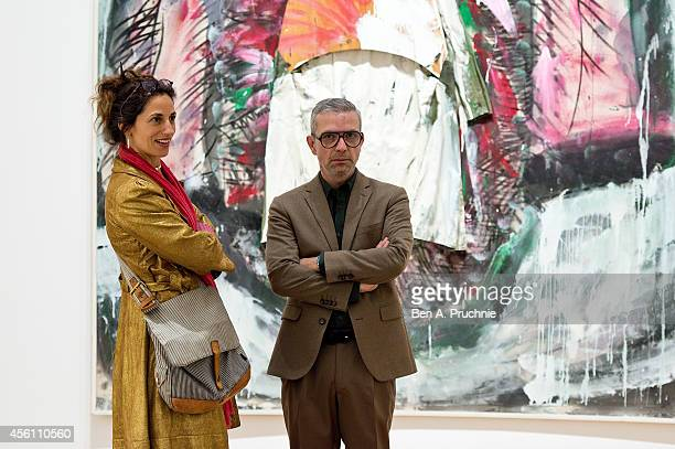 Nicolas Trembley attends the Pace London Gallery presentation of Mario Merz on September 25 2014 in London England