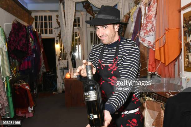 Nicolas Ullmann attends Zelia Van Den Bulke Aprons show At Zelia Abbesses Shop on May 1, 2018 in Paris, France.