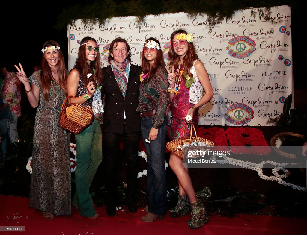 Ben noto Flower Power Party in Barcelona Photos and Images | Getty Images IS35