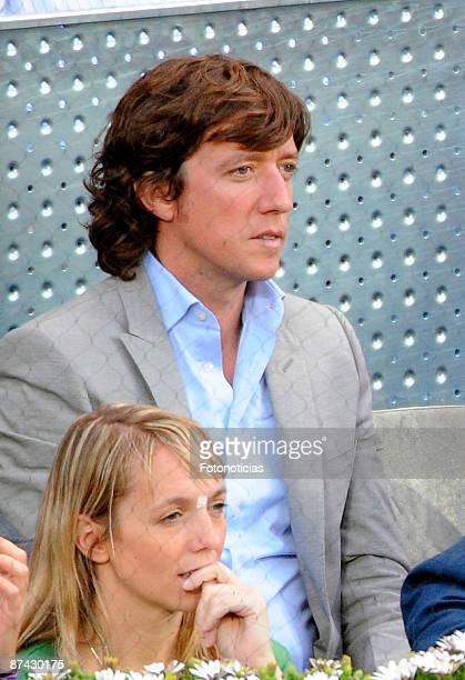 Nicolas Vallejo Najero attends Madrid Open tennis tournament at La Caja Magica on May 15 2009 in Madrid Spain