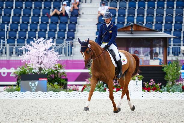 JPN: Eventing Dressage Team and Individual Day 2 - Tokyo Olympics Games 2020