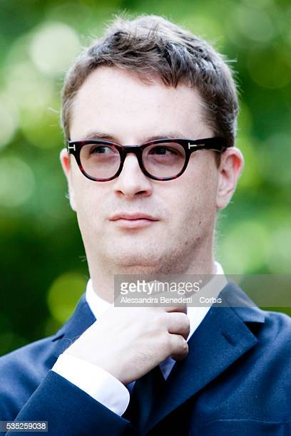 Nicolas Windig Refn attends the photocall of movie Drive in Rome