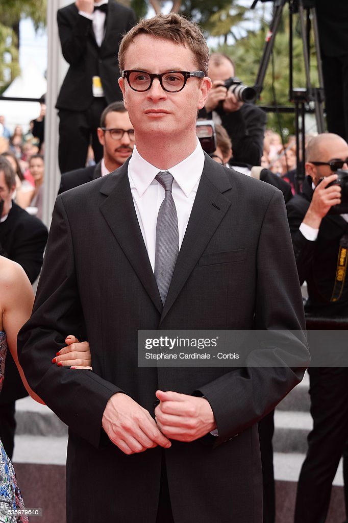 Nicolas Winding Refn at the red carpet for the Palme D'Or winners during 67th Cannes Film Festival