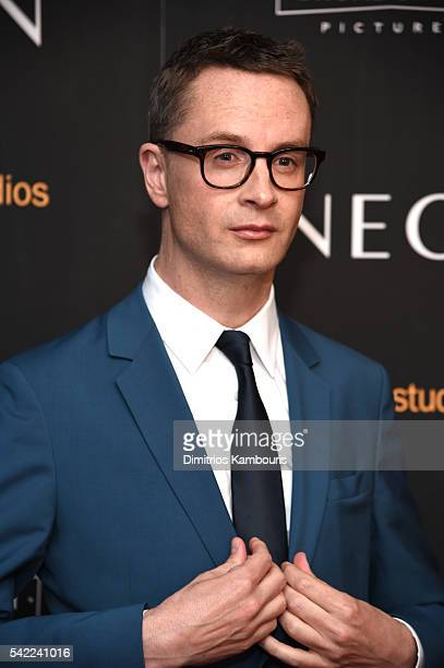 """Nicolas Winding Refn attends """"The Neon Demon"""" New York Premiere at Metrograph on June 22, 2016 in New York City."""
