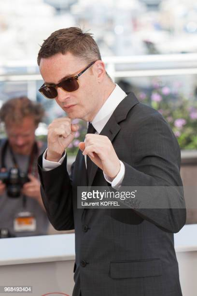 Nicolas Winding Refn attends 'The Neon Demon' Photocall during the 69th annual Cannes Film Festival at the Palais des Festivals on May 20 2016 in...