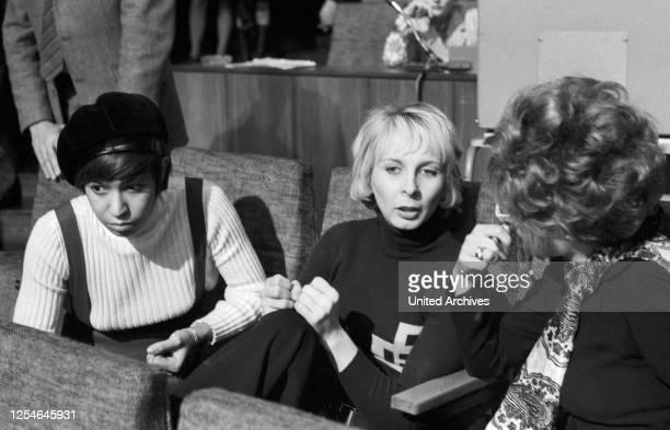 Nicole Adamo Ehefrau von Schlagersänger Salvatore Adamo Deutschland 1969