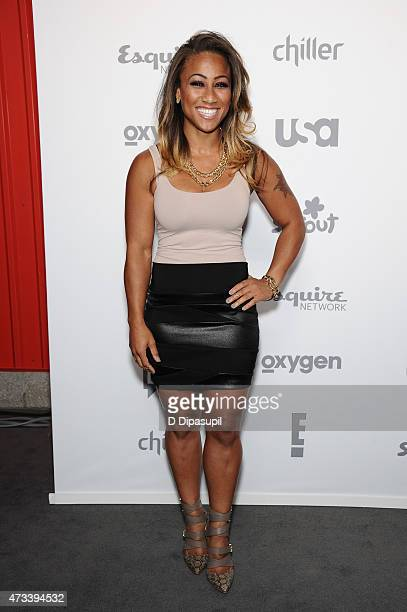 Nicole Alexander attends the 2015 NBCUniversal Cable Entertainment Upfront at The Jacob K Javits Convention Center on May 14 2015 in New York City