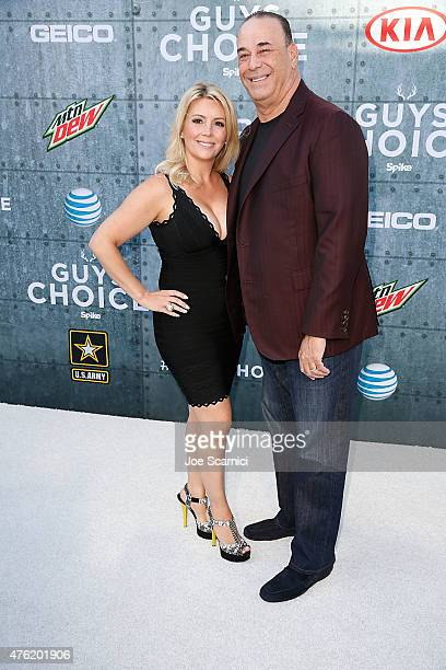 Nicole and Jon Taffer attend Spike TV's Guys Choice 2015 at Sony Pictures Studios on June 6 2015 in Culver City California