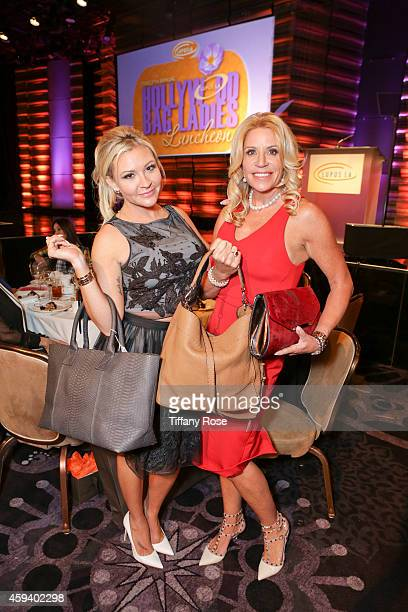 Nicole and Marla Paxson attend the Lupus LA Hollywood Bag Ladies Luncheon on November 21 2014 in Beverly Hills California