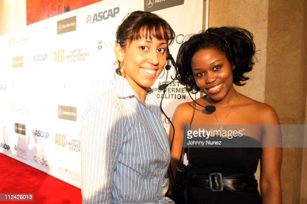 Nicole and Miatta during The 49th Annual GRAMMY Awards - Mercedes Benz Presents The AEC 5th Annual Artist Celebration Luncheon Honoring 49th Annual...