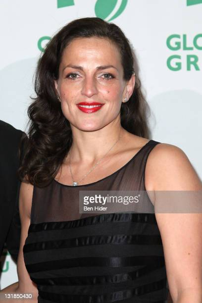 Nicole Ansari attends Global Green USA's 11th Annual Sustainable Design awards at Pier 60 on December 6 2010 in New York City