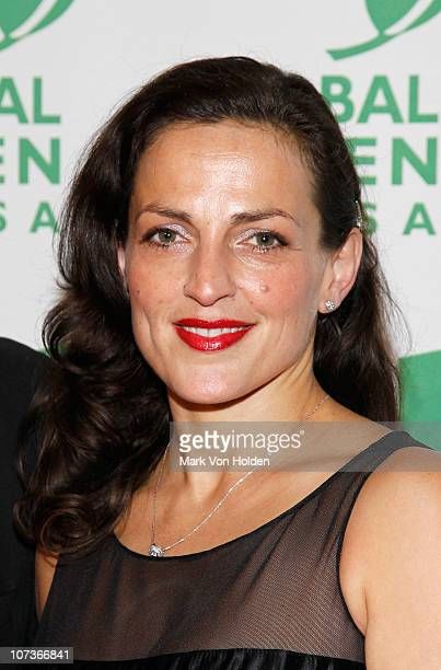 Nicole Ansari attends the 2010 Global Green USA Sustainable Design Awards at Pier 60 on December 6 2010 in New York City