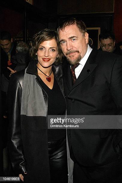 Nicole Ansari Brian Cox during 25th Hour New York City Premiere Inside Arrivals at Ziegfeld Theater in New York City New York United States