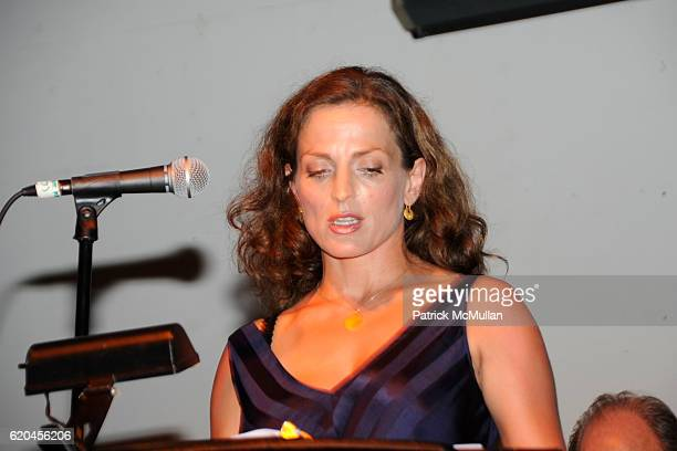 Nicole Ansari Cox attends NARSAD hosts a celebration of the arts MYSTERIES OF THE MIND at Twin Oaks Farm and Sculpture Garden on June 28 2008 in...