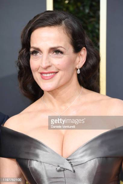 Nicole AnsariCox attends the 77th Annual Golden Globe Awards at The Beverly Hilton Hotel on January 05 2020 in Beverly Hills California