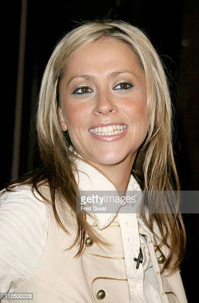 """Nicole Appleton during """"Hell's Kitchen II"""" - Day 12 - Arrivals at Brick Lane in London, Great Britain."""