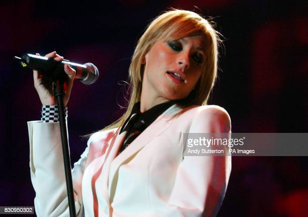 Nicole Appleton performs during Chris Tarrant's Capital Request concert at Wembley Arena in London