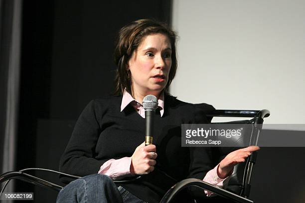 Nicole Arbusto during Film Independent's Director Series March 15 2006 at Pacific Design Center in Los Angeles California United States