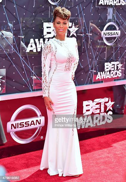 Nicole Ari Parker attends the 2015 BET Awards on June 28 2015 in Los Angeles California