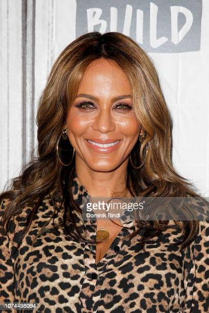 Nicole Ari Parker attends the Build Series to discuss Empire at Build Studio on November 29 2018 in New York City