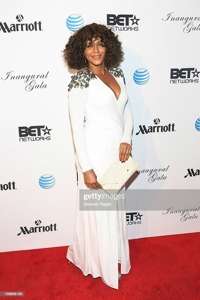 Nicole Ari Parker attends the Inaugural Ball hosted by BET Networks at Smithsonian American Art Museum & National Portrait Gallery on January 21, 2013 in Washington, DC.