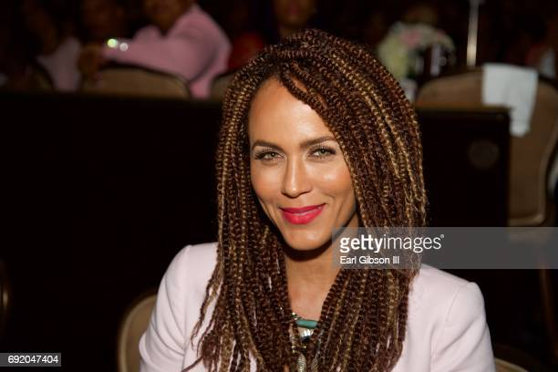 Nicole Ari Parker attends the Ladylike Foundation's 9th Annual Women Of Excellence Awards Gala at The Beverly Hilton Hotel on June 3 2017 in Beverly...