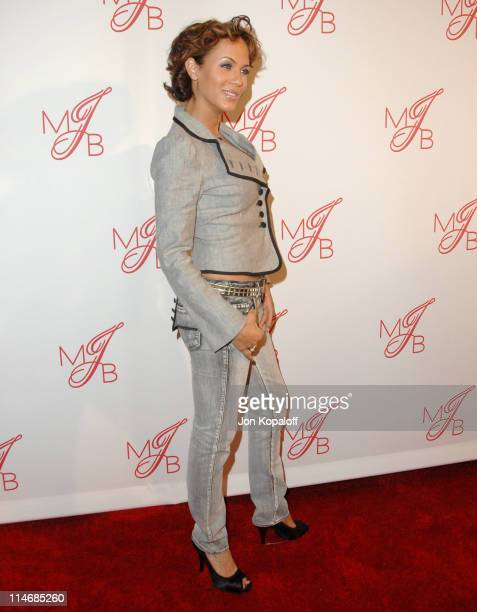 Nicole Ari Parker during Will Smith and Jada Pinkett Smith Host PreGrammy Party to Celebrate Grammy Nominee Mary J Blige Arrivals at Boulevard 3 in...
